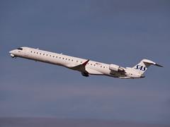 EC-JZV (SAS Scandinavian Airlines) CRJ-900ER (alex kerr photography) Tags: egcc manchesterairport airport airlines aviation planespotter passengerjet passengerplane airliner