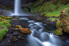 Iceland Hidden gem kvernufoss waterfall (PIERRE LECLERC PHOTO) Tags: iceland waterfall nature kvernufoss photography landscape icelandic adventure travel lushgreen longexposure scenic exploreiceland river rocks moss canyon gorge road trip southern pierre leclerc pierreleclercphotography 5dsr