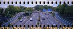 A40   Ruhrschnellweg (Dominik Wesche) Tags: analog film adox sport kodak gold 200 cinestill cs41