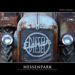 HESSENPARK (Matthias Besant) Tags: hessenpark freilichtmuseum museum historisch alt gebäude fachwerkhäuser architektur hessen oldtimer traktor