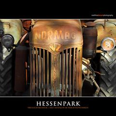 HESSENPARK (Matthias Besant) Tags: hessenpark freilichtmuseum museum historisch alt gebäude fachwerkhäuser architektur hessen detail traktor