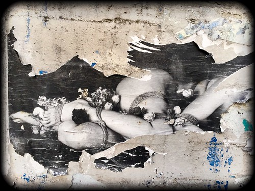 In Bondage Found #FoundArt #Beauty #Erotic #FeminineForm #Bound #Bondage #sNm #Slap #StreetArt #Graffiti #Denver #Alley #UrbanLife