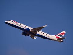 G-LCYR: BA CityFlyer(ERJ-190-100 SR) (alex kerr photography) Tags: egcc manchesterairport airport airlines aviation planespotter passengerjet passengerplane airliner