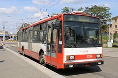 2017-05-22, Brno, Hlavní Nádrazí (Fototak) Tags: trolleybus filobus obus skoda 14tr brno czechrepublic ligne31 3254