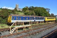 Ex-Northern Ireland Railways 80 Class DEMU (8090), Downpatrick, October 2019 (Photos by Nathan Lawrence) Tags: nir translink 80 class demu set unit dmu dcdr downpatrick railway county down brel english electric