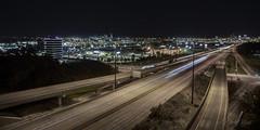 Lights of the City (david.horst.7) Tags: night highway traffic city lights lighttrails
