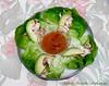 Chiken Wraps (M.P.N.texan) Tags: food lettucewraps chicken avocado salsa sauce garnish fingerfood