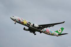 B-16333 (tai46) Tags: boeing airbus a330300 hello kitty