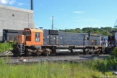 RRPX 41 MLW M630 (Trucks, Buses, & Trains by granitefan713) Tags: train locomotive sixaxles mlw m636 montreal cartier wnyp westernnewyorkpennsylvania shop enginehouse locomotiveshop rrpx dl delawarelackawanna m630