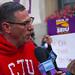 Jesse Sharkey President Chicago Teachers Union Chicago Teachers Union Rally 10-14-19_3788