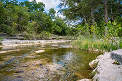 HillCountry_004 (allen ramlow) Tags: flat creek river landscape scenic trees water rocks sony alpha nature