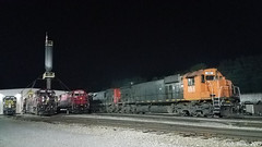 WNYP MLW M636 and Alco C630M (Trucks, Buses, & Trains by granitefan713) Tags: train locomotive sixaxles mlw m636 montreal cartier wnyp westernnewyorkpennsylvania shop enginehouse locomotiveshop alco alcoc630m c630m