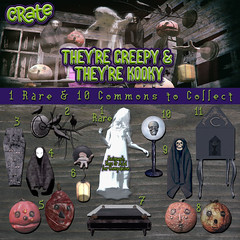 They're Creepy & They're Kooky for Epiphany! (crate.) Tags: decor halloween scary creepy kooky epiphany crate