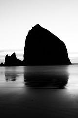 Haystack (D28 Creative) Tags: cannon beach haystackrock reflection