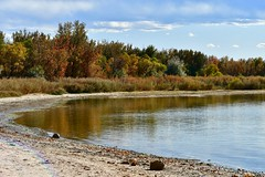 I love the warm atmosphere of Autumn (wjaachau) Tags: autumn lake river park nature landscape scenic scenery fishing serenity peaceful tranquiling boating sailing kayak
