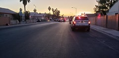 LVMPD on scene of a possible hostage situation. (Summerlin540) Tags: