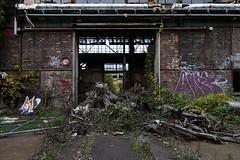 EinfallsTor (Panasonikon) Tags: panasonikon sonya6000 canon1018 fabrik graffiti lostplaces verfall industrie industry ruine niedergang