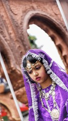 Little Noorjahan (Sagar Nikam) Tags: festival ganpati india maharashtra traditional girl little