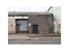 untitled (chrisinplymouth) Tags: wall door industrial office brick plymouth devon england trait uk city xg cw69x cameo urbio