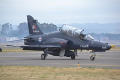 155205 (LAXSPOTTER97) Tags: rcaf royal canadian air force british aerospace ct155 hawk 155205 cn it013 15 wing 2 cffts forces flying training school aviation airport khio 2018 oregon international airshow airplane