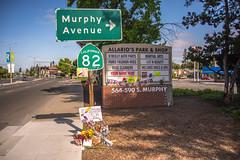 Sunnyvale Pedestrian Attack Memorial (www78) Tags: california sunnyvale attack pedestrian memorial
