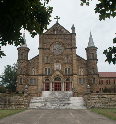 St. Meinrad, IN Monastery Archabbey (#0313)