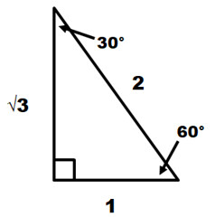 30-60-90 Special Right Triangle (mmbillah02) Tags: special right triangle 30 60 90