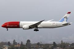 Norwegian | Boeing 787-9 | G-CKWE | Los Angeles International (Dennis HKG) Tags: norwegian norwegianairuk nrs di nax aircraft airplane airport plane planespotting canon 7d 100400 losangeles klax lax boeing 787 7879 boeing787 boeing7879 dreamliner gckwe