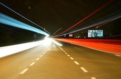 Light flow (traveleriind) Tags: sony sonyaplhaa7 sonya7 fullframe august 2019 summer summernight traffic road highway ostrava night longexposure tripod motion lights