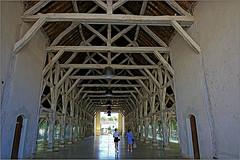 Halles de Richelieu, Indre-et-Loire, France (claude lina) Tags: claudelina canon france indreetloire richelieu halle charpente architecture