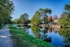 A Fine October afternoon along the Canal (kendoman26) Tags: hdr nikhdrefexpro2 imcanal iandmcanal imcanaliandmcanal morrisillinois sonyalpha sonya6000 sonyphotographing selp1650