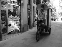 Delivery (Bury Gardener) Tags: barcelona spain europe 2019 catalonia streetphotography street streetcandids snaps strangers candid candids people peoplewatching folks fujixt3 fuji fujifilm bw blackandwhite monochrome mono