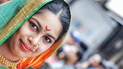 Shivkanya (Sagar Nikam) Tags: saree girl marathi look india maharashtra shivkanya festival ganpati