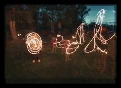 Multidirectional Pyrotechnics (pni) Tags: imageediting composite collage photomontage threelayeredimages fire kid child girl boy woman human person being people sparkler grass night evening tree veneziaden jakobstad pietarsaari jeppis pekkanikrus skrubu pni