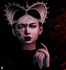 Pryce: Macabre Halloween Challenge--SL Dusk Till Dawn Contest (eiloodoolittle) Tags: skinnery junbug blackdragon lawrenced prycemacabrehalloweenchallenge sldusktilldawnhalloweencontest