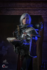 Piece of Cake Cosplay as Sister of Battle from Warhammer 40K, by SpirosK photography (SpirosK photography) Tags: cosplay costumeplay palazzogonzaga portrait spiroskphotography voltaincosplay voltaincosplay2019 vic pieceofcake pieceofcakecosplay postapocalyptic 40k warhammer40k warhammer tabletoprpg rpg game videogame gaming sisterofbattle adeptasororitas