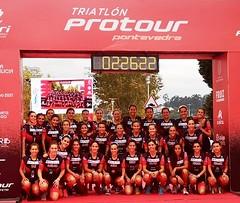 Team Clavería  en protour Pontevedra 15