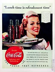 c h a r m . o f . p u r i t y (epiclectic) Tags: coke cocacola soda softdrink ad advertisement retro vintage life lifemagazine 1940 classic epiclecticcom