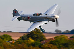 DSC_2351 (chris murkin) Tags: yakovlev yak3m allison v1710 soviet airforce aircraft airshow airshows air attack duxford display fighter warbird warbirds wwii russia