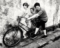 Penang street (-Faisal Aljunied - !!) Tags: faisalaljunied streetart penang malaysia streetphotography bw