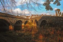 the two bridges (johnny_9956) Tags: ellon aberdeenshire scotland canon bridge bridges autumn river water uk outdoor outside 7d
