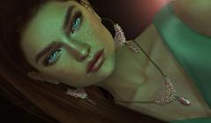 KUNGLERS - Miray (AvaGardner Kungler) Tags: kunglers avagardnerkungler secondlife jewelry belle necklace earrings pearl photography photoshop mesh digital 3d virtual model