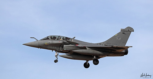 Armee de l'Air Dassault Rafale B 346/4-FM, ETR 03.004, TLP 2019-3, Albacete AFB/LEAB