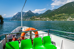 Lago d'Iseo 2019 - Monte isola (karlheinz klingbeil) Tags: d850 nikon see water italy italia lake lagoiseo schiff ship 2470 boot tamron2470 boat lago wasser italien