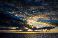 Sunset at Sea (Tony Shertila) Tags: nikon5300 cruise ship tourist worldcruise 201905031911560 europe atlantic ocean bayofbiscay deck sk weather