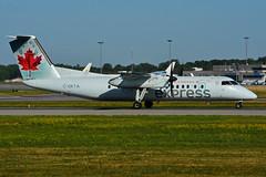 C-GKTA (Air Canada EXPRESS - JAZZ) (Steelhead 2010) Tags: aircanada aircanadaexpress jazz dehavillandcanada dhc8 dhc8300 dash8 yul creg cgkta