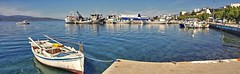Panorama Insel Euböa/Evia - Marmari ... Hafen/Port (kh goldphoto) Tags: euböa unberührteseuböa golfvoneuböa griechenland griechischeinseln marmari hafen hafenflair hafenkutter hafenboote hafenstadt fischerboote fähre fähranleger mittelmeer strandpromenade panorama panoramaphoto mediterranefarben