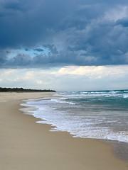 Luv a Coastal Storm (Bron.Wolff) Tags: coastal queensland dramatic cloudscape clouds stormy sand sea seascape ocean nature landscape beach weather storm