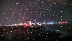 Heathrow 14 October 2019 197 (paul_appleyard) Tags: lights rain raindrops water wet window airport heathrow london october 2019