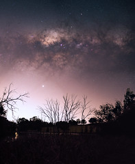 Milky Way at Bailup, Western Australia (inefekt69) Tags: bailup panorama stitched mosaic msice milky way cosmology southern hemisphere cosmos western australia dslr long exposure rural night photography nikon stars astronomy space galaxy astrophotography outdoor core great rift ancient sky 35mm d5500 landscape tree silhouette tracked ioptron skytracker light pollution trees lake pond